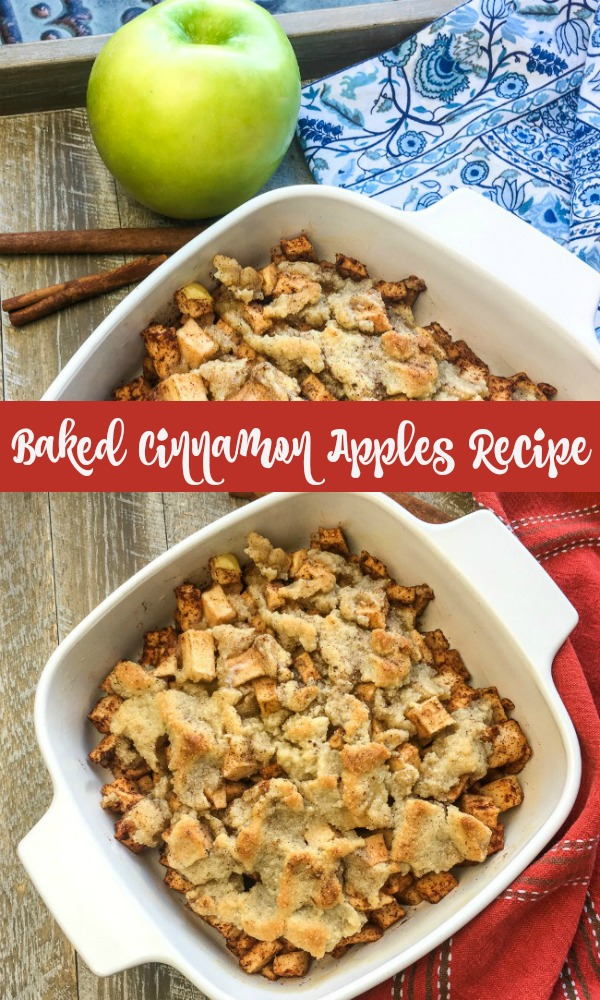 delicious baked cinnamon apples