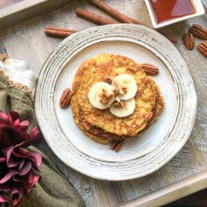 simple pumpkin spice pancake recipe