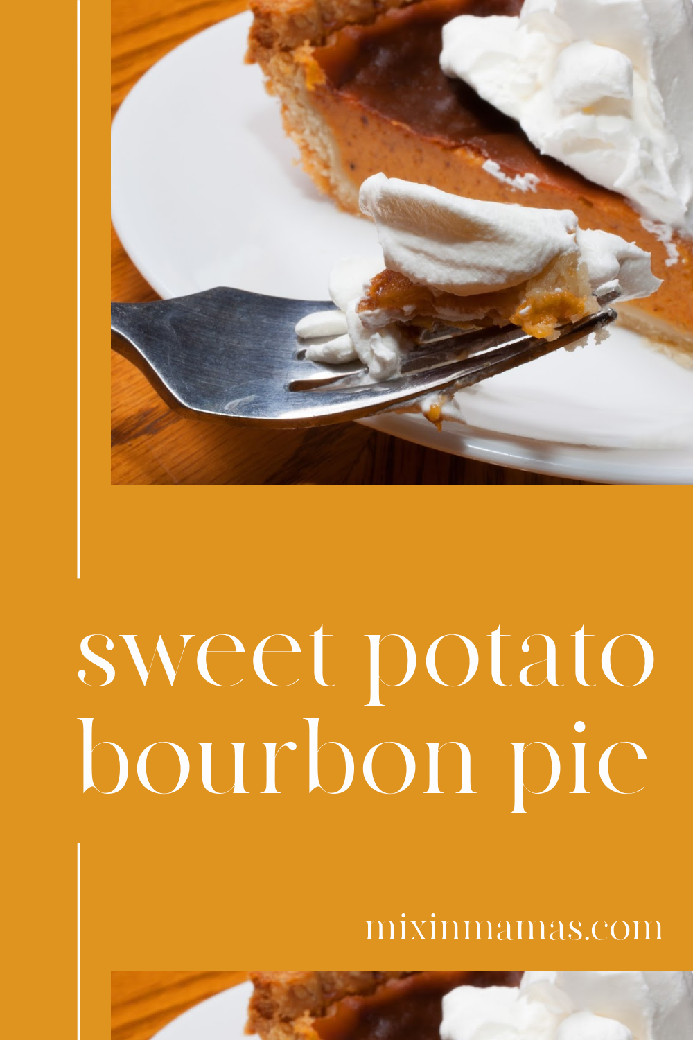 sweet potato bourbon pie