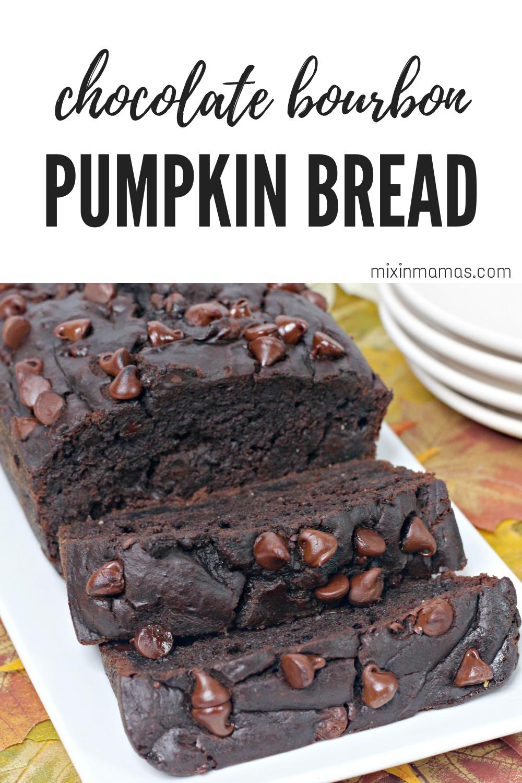 Chocolate Bourbon Pumpkin Bread